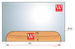 Ножи профильные для изготовления обналички