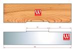 Ножи профильные 3мм для изготовления вентиляционного паза