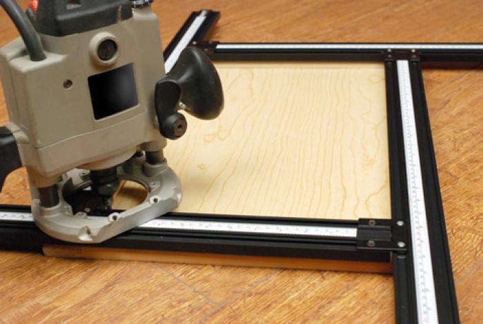 Шаблон фрезерный Trend Varijig Adjustable Frame System
