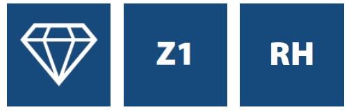 Фрезы алмазные Z1, серия DT1
