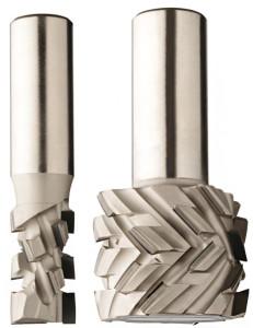 Фрезы алмазные концевые для форматной обработки и выборки паза